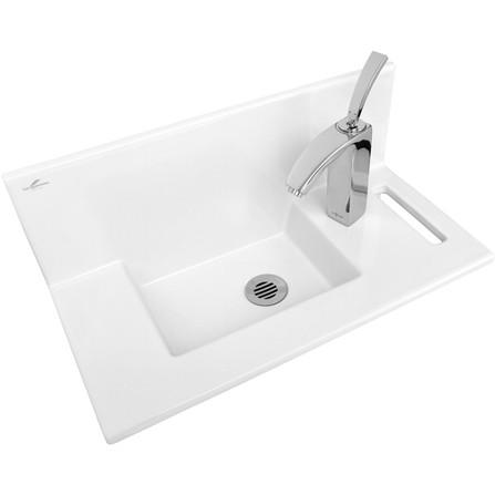 Lave mains Céramique Concept Blanc Sarreguemines