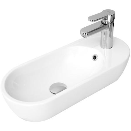 Lave mains céramique Pirogue Blanc Sarreguemines