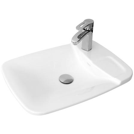 Vasque Céramique Sarreguemines Plume Blanc
