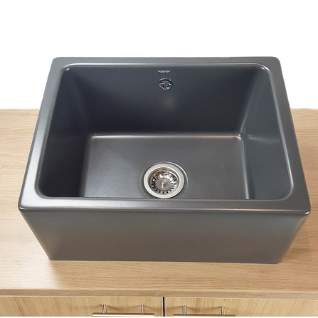 Evier Timbre D'office Belfast 1 cuve  Anthracite